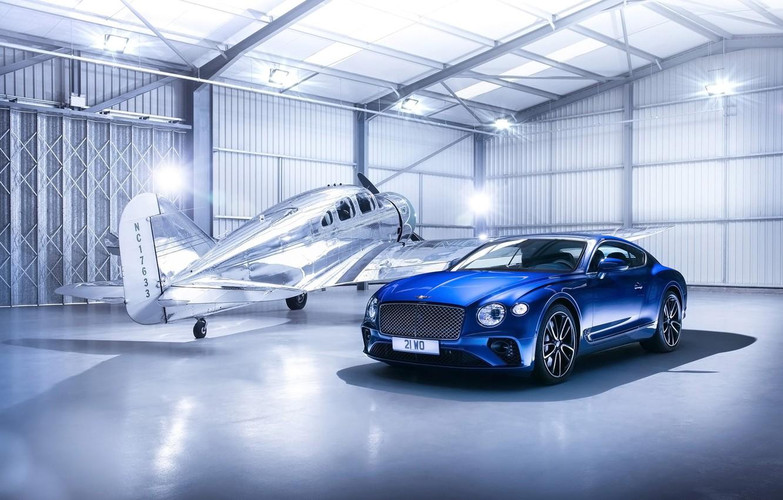 Photo wallpaper Bentley, Continental, Bentley, Continental GT, the plane