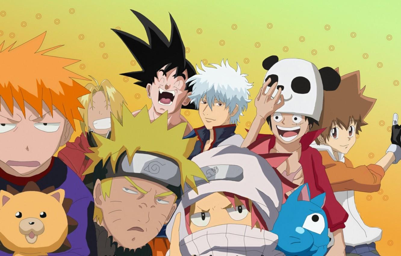 Wallpaper Game Bleach Naruto One Piece Anime Crossover Asian Manga Fullmetal Alchemist Gintama Naruto Shippuden Panda Oriental Asiatic Dragon Ball Katekyo Hitman Reborn Fairy Tail Images For Desktop Section Syonen Download