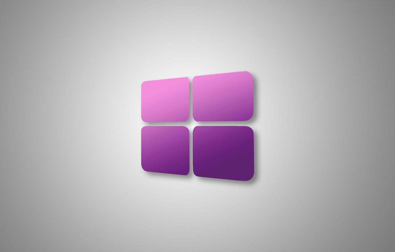 Photo wallpaper computer, texture, logo, window, operating system, windows 10