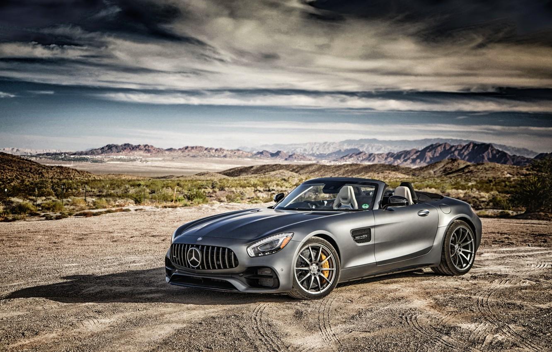 Photo wallpaper Roadster, Mercedes, Roadster, Mercedes, AMG, GT-Class, R190