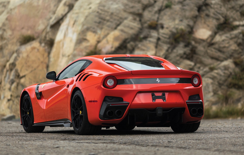 Photo wallpaper Ferrari, supercar, rear view, F12, 2017, TDF