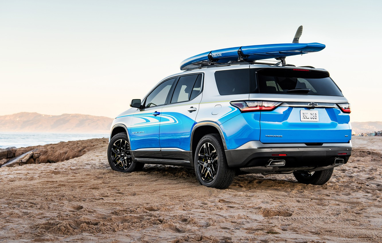 Photo wallpaper Chevrolet, Traverse, SUP Concept