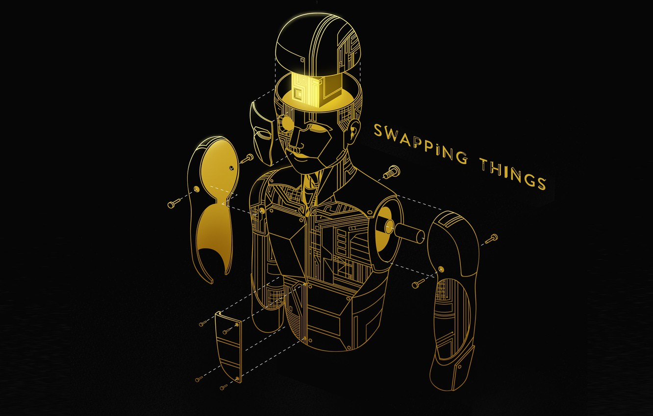 Photo wallpaper Music, Cover, Monstercat, Topi, Swapping Things