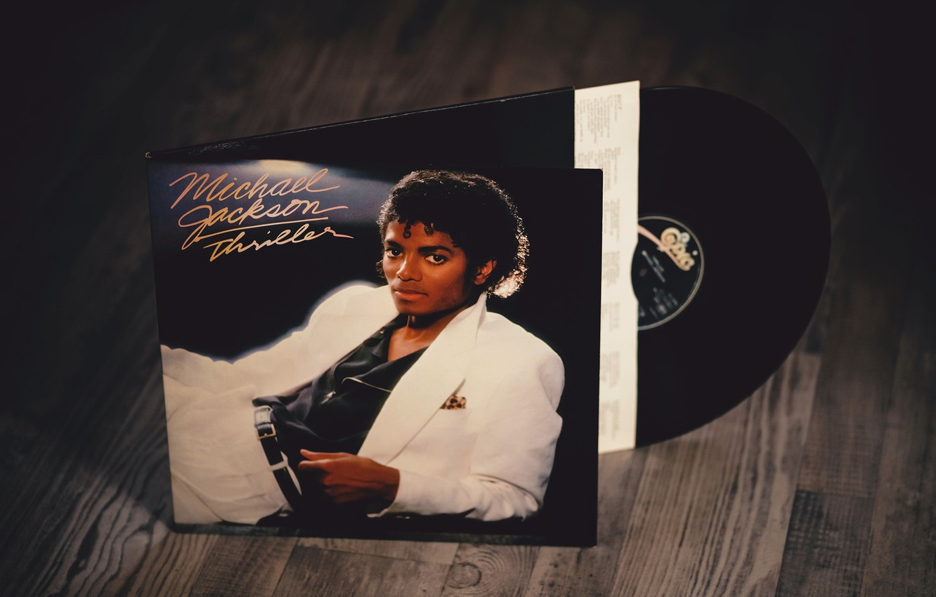 Wallpaper Michael Jackson Vinyl Thriller Rememberwhen