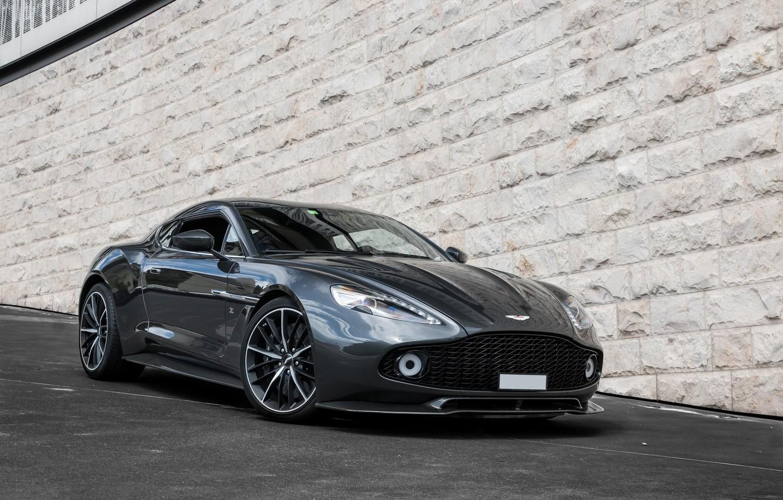 Photo wallpaper Aston Martin, Zagato, Vanquish