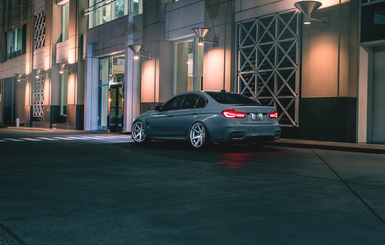 Photo wallpaper BMW, Wheels, Rear, Rohana, F80