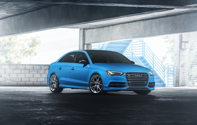 Photo wallpaper Audi, Blue, Riviera