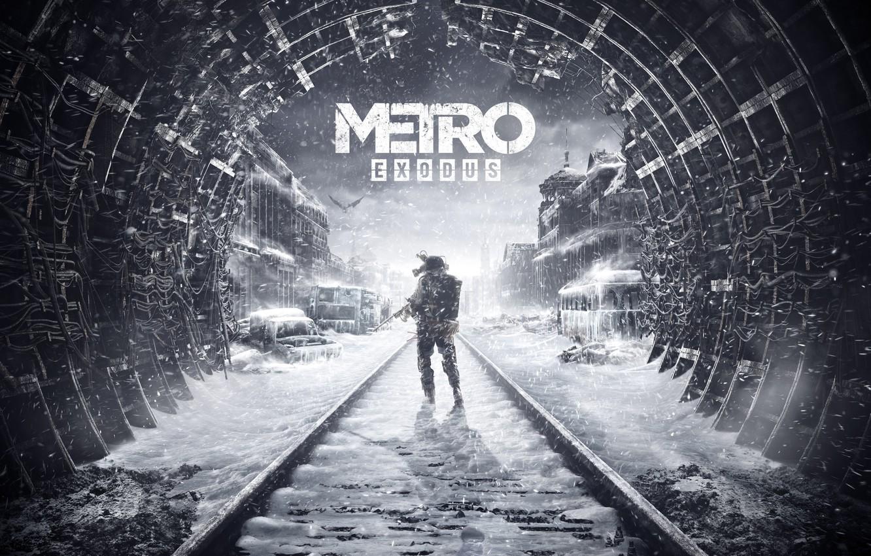Photo wallpaper Metro, Art, Metro, 4A Games, Deep Silver, Exodus, Metro: Exodus, Metro Exodus, Artem, Metro Exodus, …