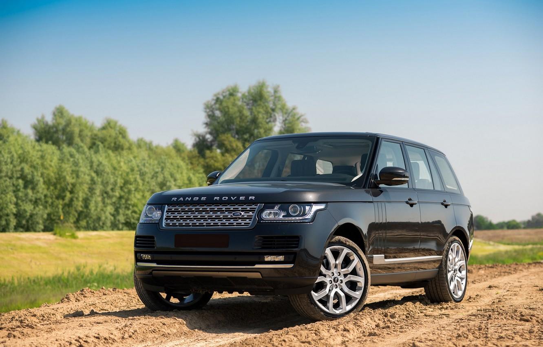 Photo wallpaper road, nature, Range Rover, Rover, Range