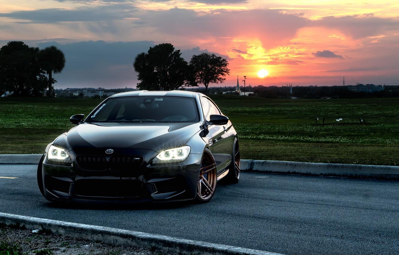 Photo wallpaper BMW, Black, F13