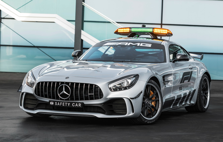 Photo wallpaper Mercedes-Benz, Formula 1, AMG, 2018, Safety Car, GT R