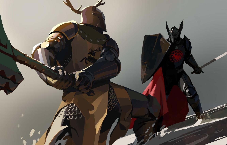Wallpaper Axe Sword Armor Game Of Thrones Targaryen