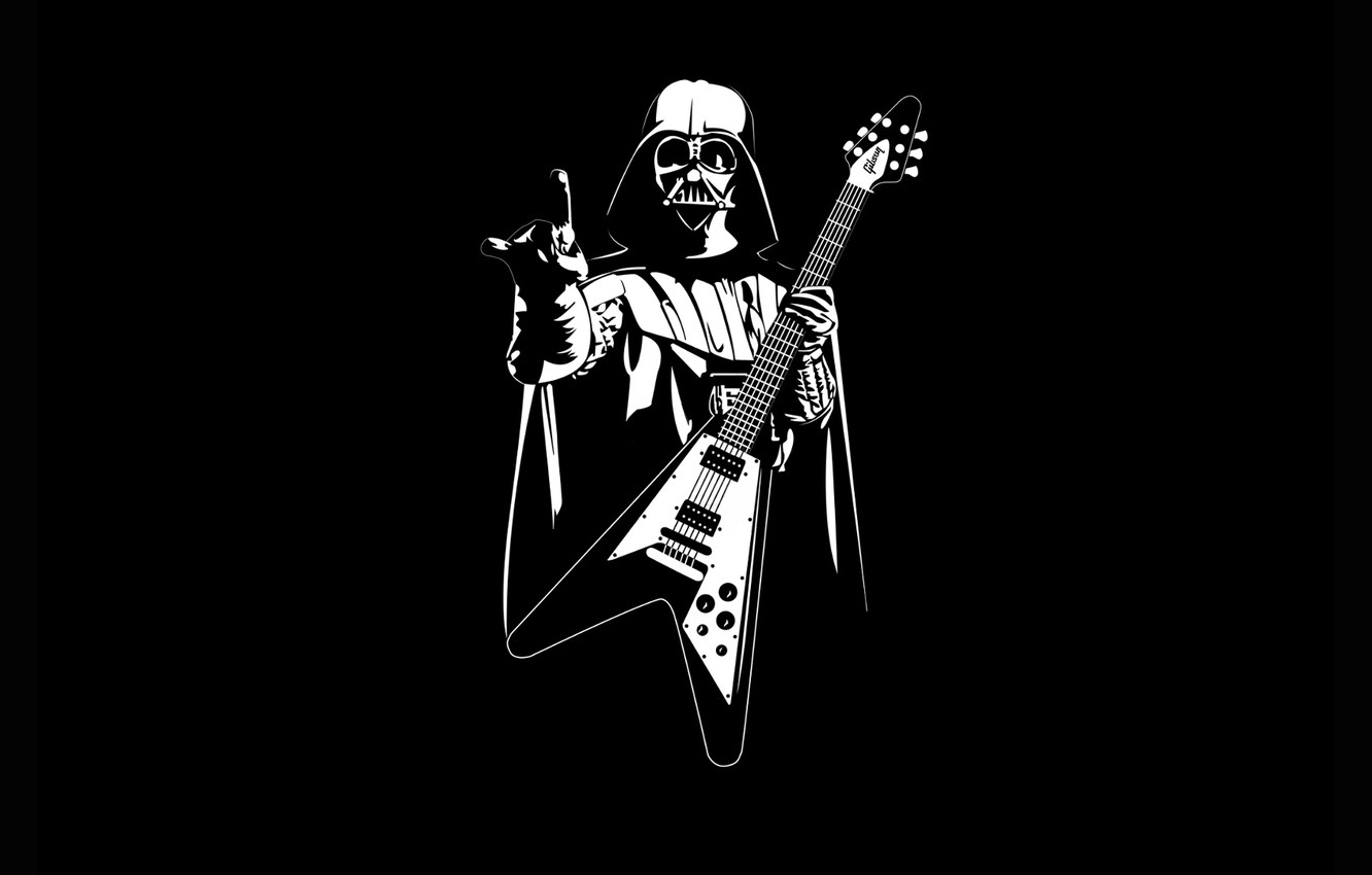Wallpaper Star Wars Guitar Heavy Metal Pearls Images For Desktop Section Minimalizm Download