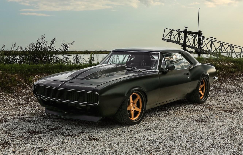 Photo wallpaper Chevrolet, Camaro, Wheels, Concave, Forgeline, FF3C