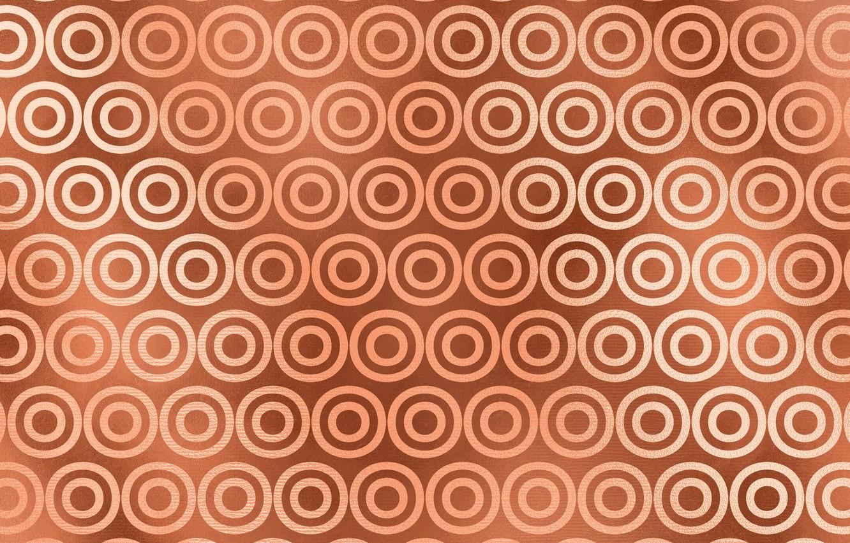 Photo wallpaper Pattern, Circles, Background, Texture, Gold