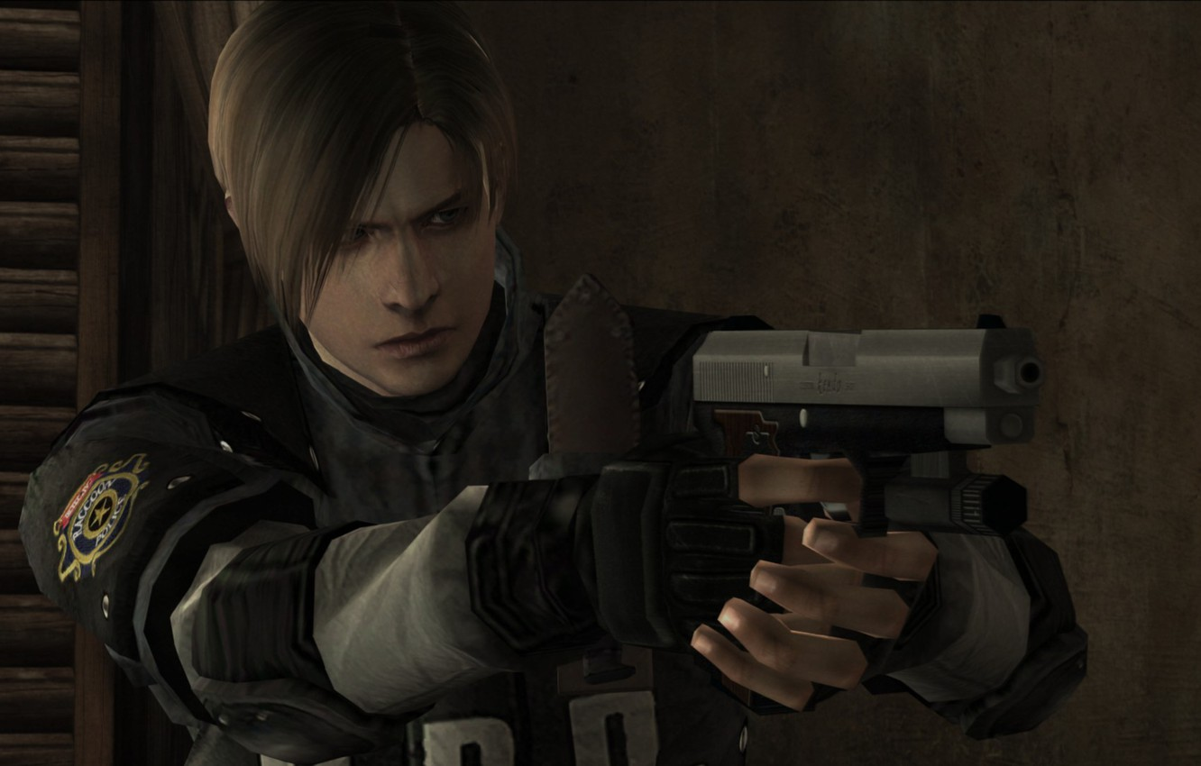 resident evil 4 leon wallpaper hd download