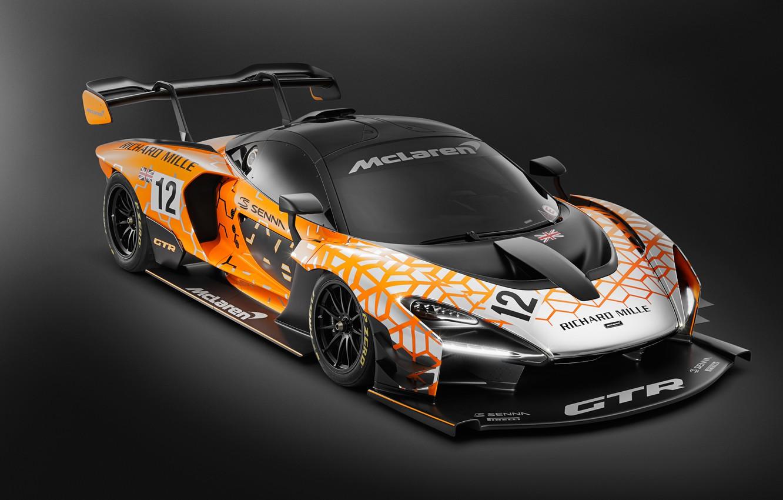 Photo wallpaper Concept, McLaren, GTR, racing car, 2018, Senna