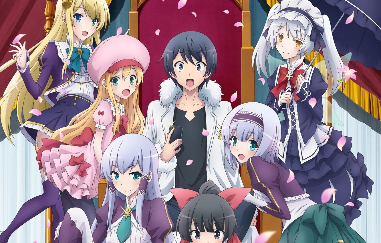 Wallpaper girl anime boy king japanese smartphone - Anime wallpaper for smartphone ...