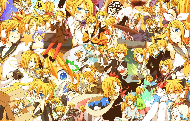 Wallpaper Children Anime Art Vocaloid Vocaloid Characters