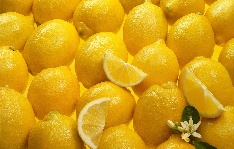 Photo wallpaper flower, lemon, texture, Yellow, Texture, Lemons