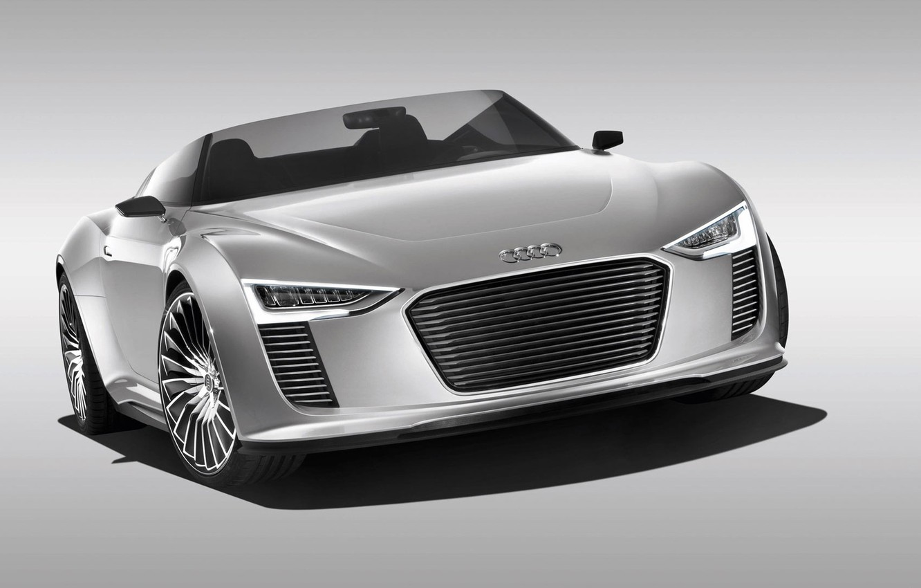 Photo wallpaper Audi, concept, Spyder, and tron