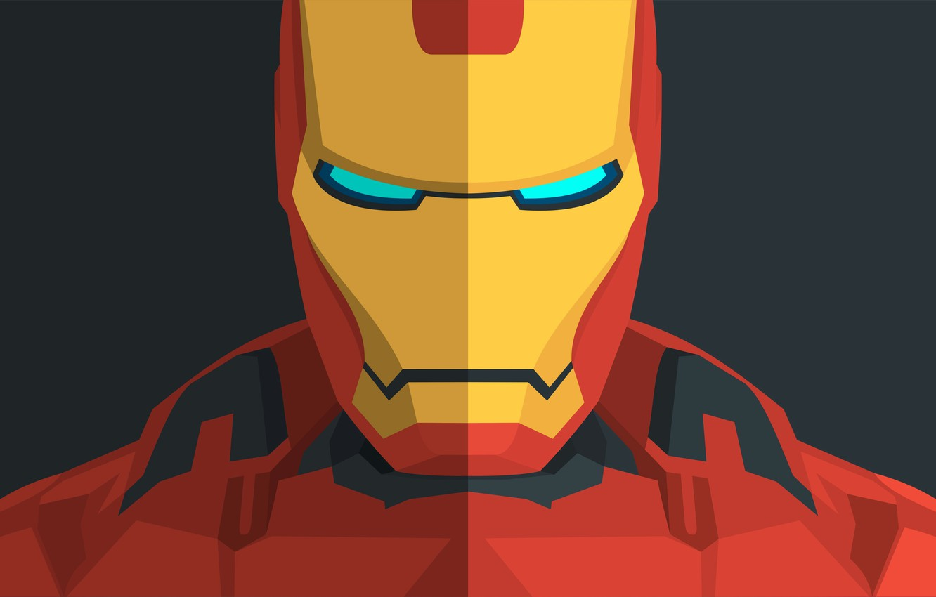 Wallpaper Minimal Iron Man Marvel Comics Iron Man Images For Desktop Section Filmy Download