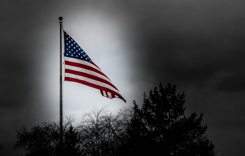 Photo wallpaper flag, patriotism, country