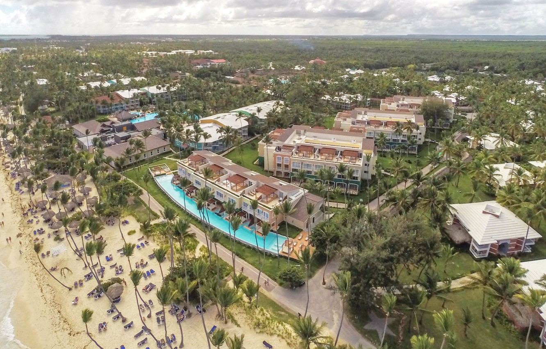 gładki Pierwsze spojrzenie outlet na sprzedaż Wallpaper beach, palm trees, the ocean, the hotel, Dominican ...