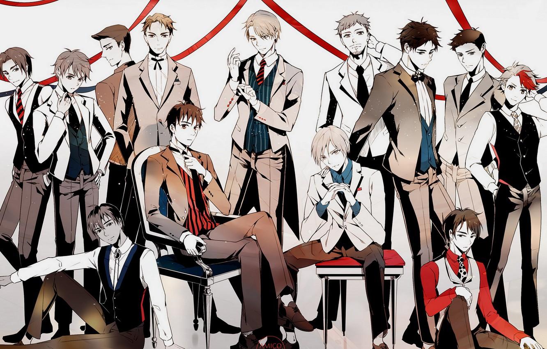 Photo wallpaper anime, art, skaters, guys, characters, Yuri on Ice, Yuri on the ice
