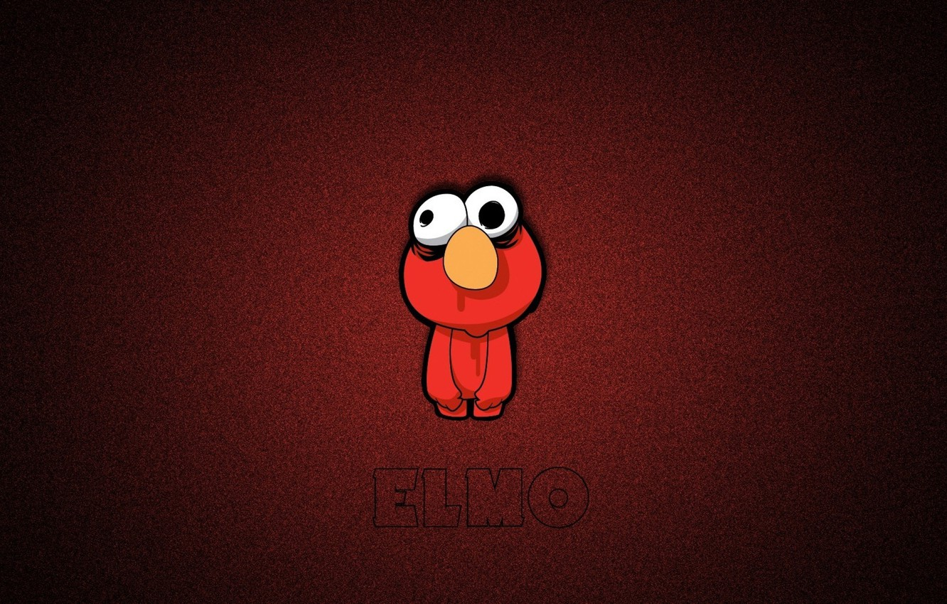 Wallpaper Doll Red Monster Elmo Sesame Street Images For