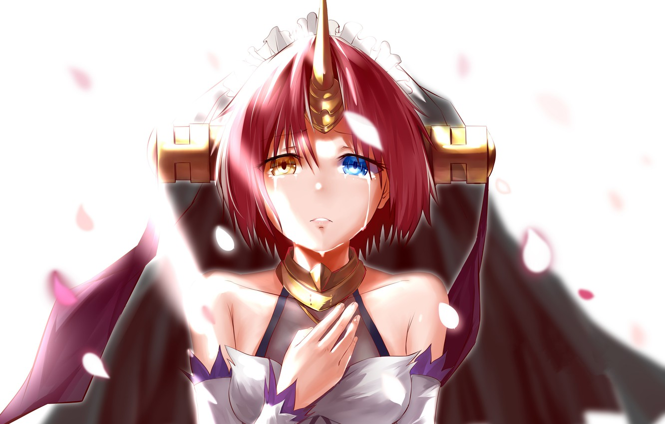 Photo wallpaper look, girl, background, anime, Fate / Grand Order