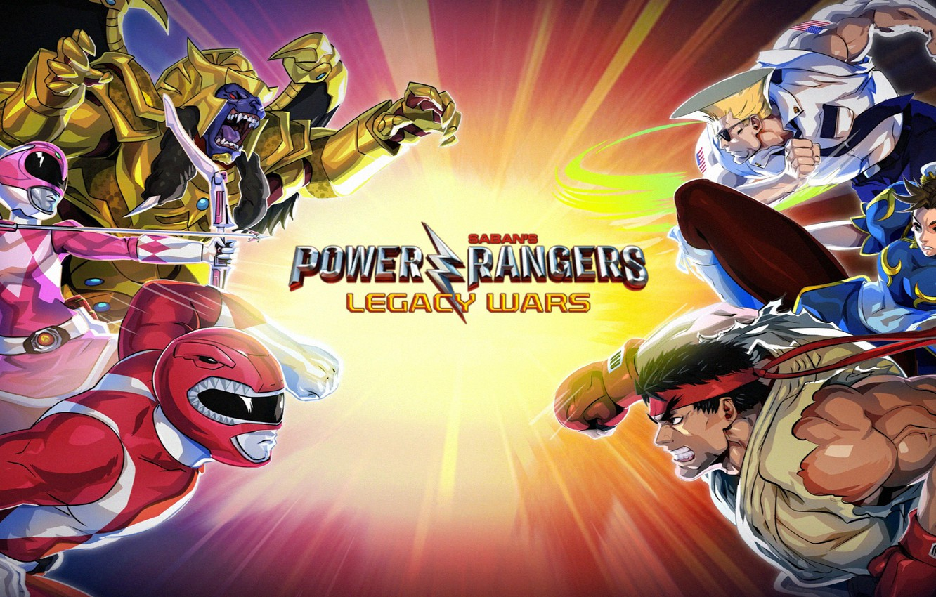 Photo wallpaper the game, Android, fighter, game, wars, legacy, fight, fighting, Street Fighter, Chun-Li, Power Rangers, Power …