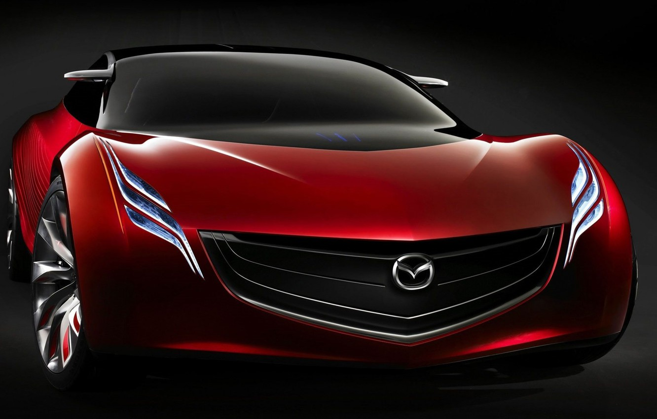 Photo wallpaper Mazda, Mazda, Front, Mazda Ryuga, Concept 2007