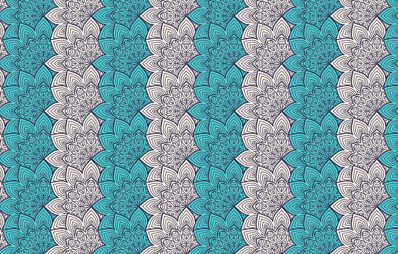 Photo wallpaper design, pattern, ornament, floral, mandala, design by visnezh