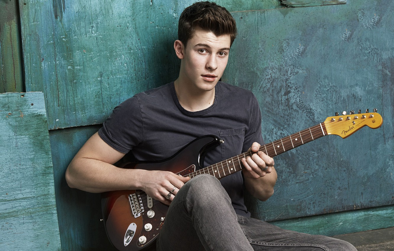 Wallpaper Guitar Guy Seventeen Shawn Mendes Images For