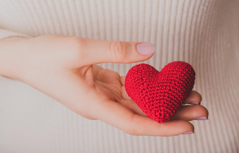 Photo wallpaper heart, love, heart, romantic, gift