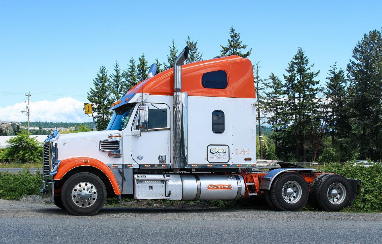 Photo wallpaper Classic, Freightliner, tractor
