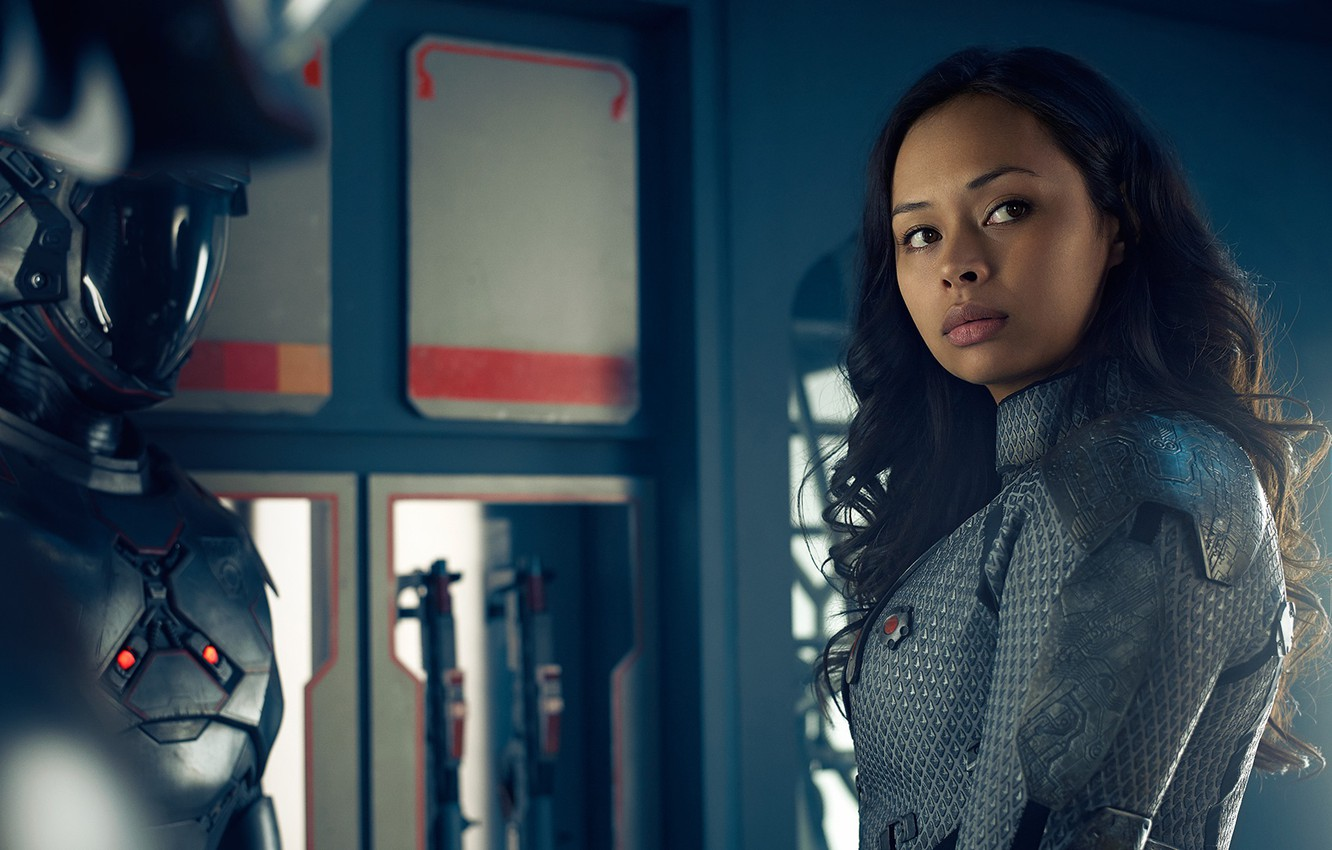 Photo wallpaper actress, tv series, The Expanse, Roberta Draper, Frankie Adams