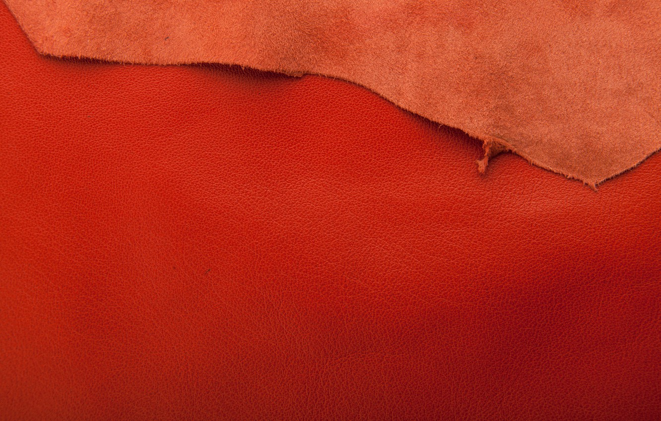 Photo wallpaper leather, red, texture, background, leather
