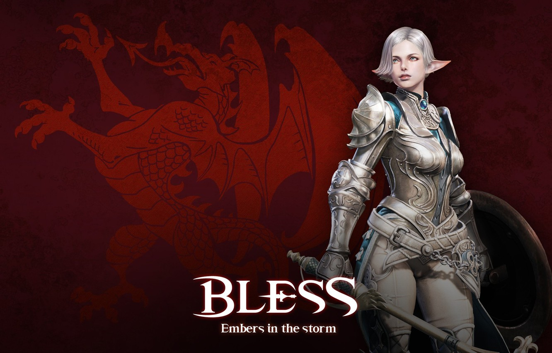 Wallpaper game, Microsoft Windows, MMORPG, elf, shield