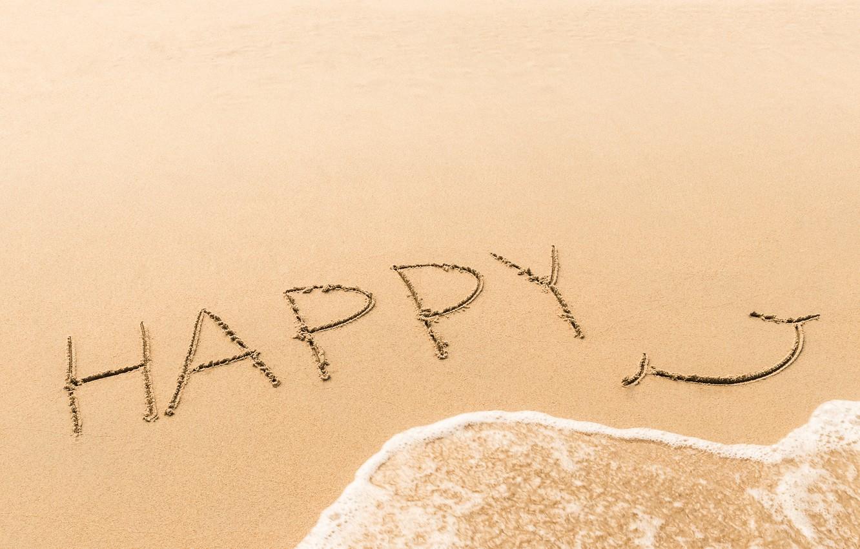Photo wallpaper sand, sea, wave, beach, summer, happiness, smile, summer, happy, beach, sea, smile, sand, wave