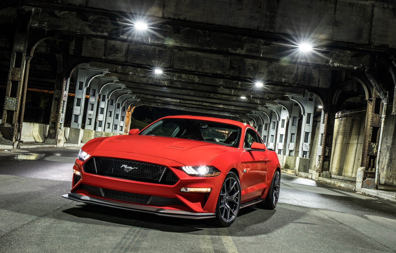 Photo wallpaper Ford, 2018, Mustang GT, Level 2 Performance Pack