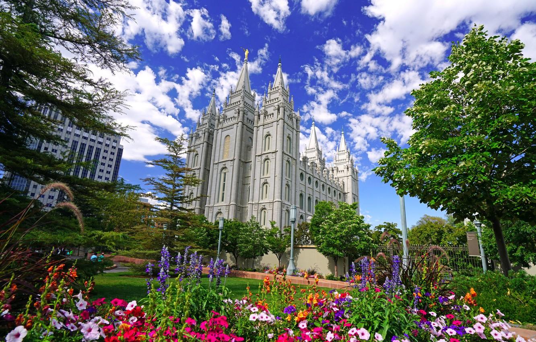 Photo wallpaper Utah, USA, Salt Lake City, Salt Lake City