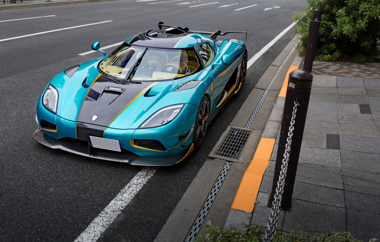 Photo wallpaper agera, Street, koenigsegg, one 1