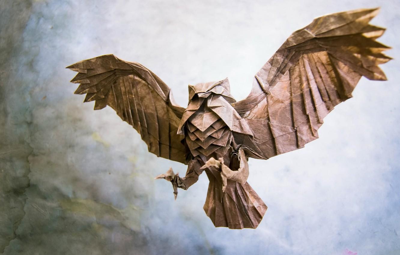 Wallpaper Paper Bird Origami Images For Desktop Section Raznoe Download