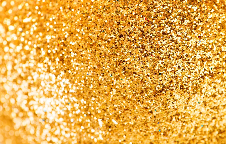 Photo wallpaper background, gold, texture, sequins