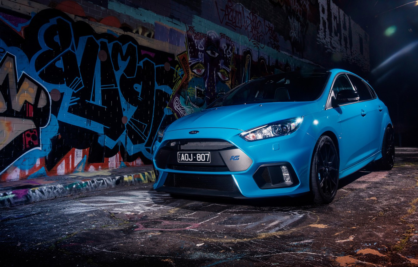 Photo wallpaper Ford, 2018, Limited Edition, Focus RS