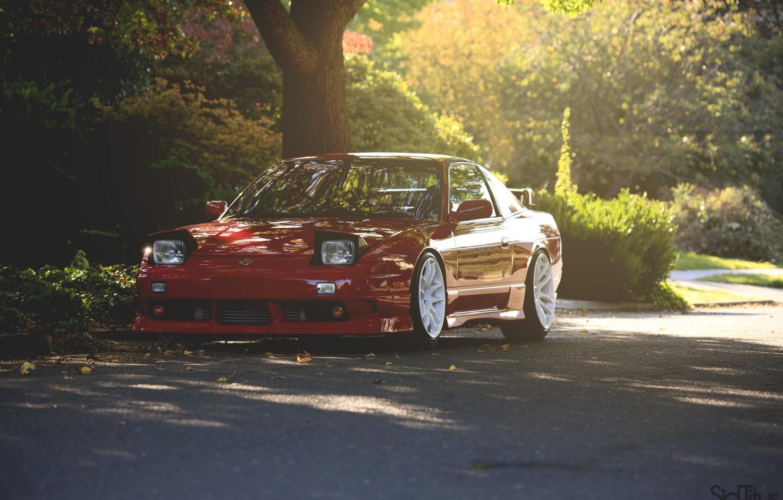 Photo wallpaper Nissan, 180sx, jdm style