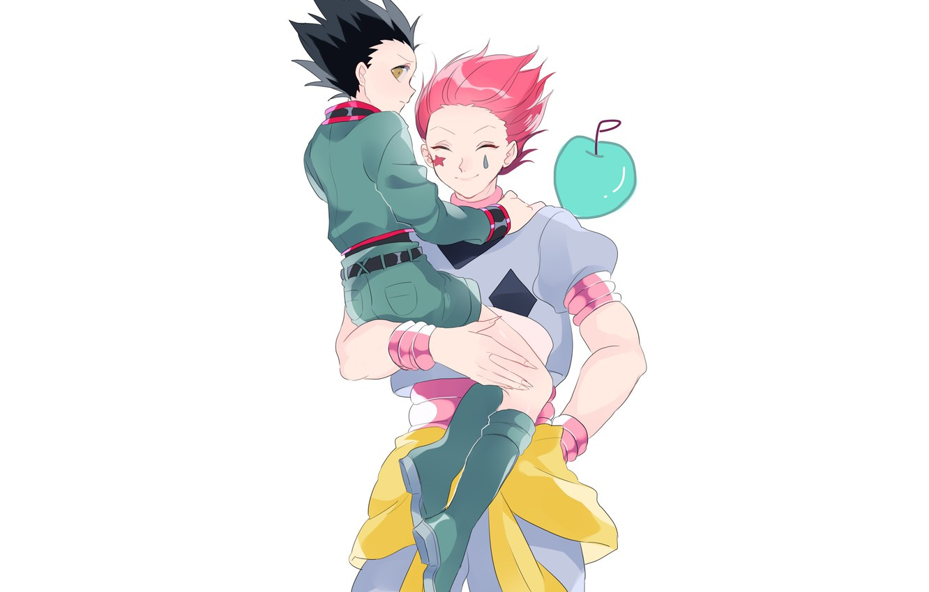 Wallpaper Art Hunter X Hunter Hisoka Gon Images For