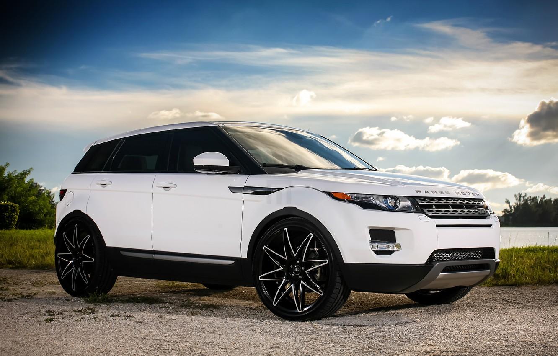 Photo wallpaper wheels, Land Rover, Evoque, Luxury, lowered
